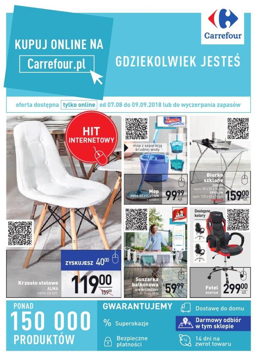 Carrefour, gazetka do 09.09.2018