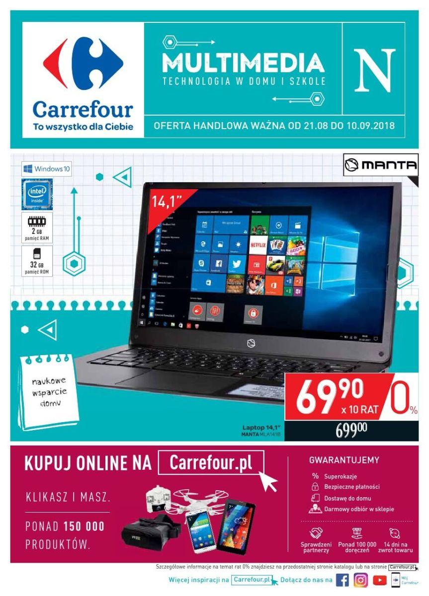 Carrefour, gazetka do 10.09.2018