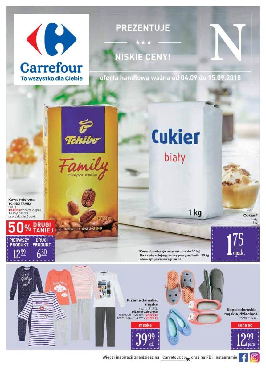 Carrefour, gazetka do 15.09.2018