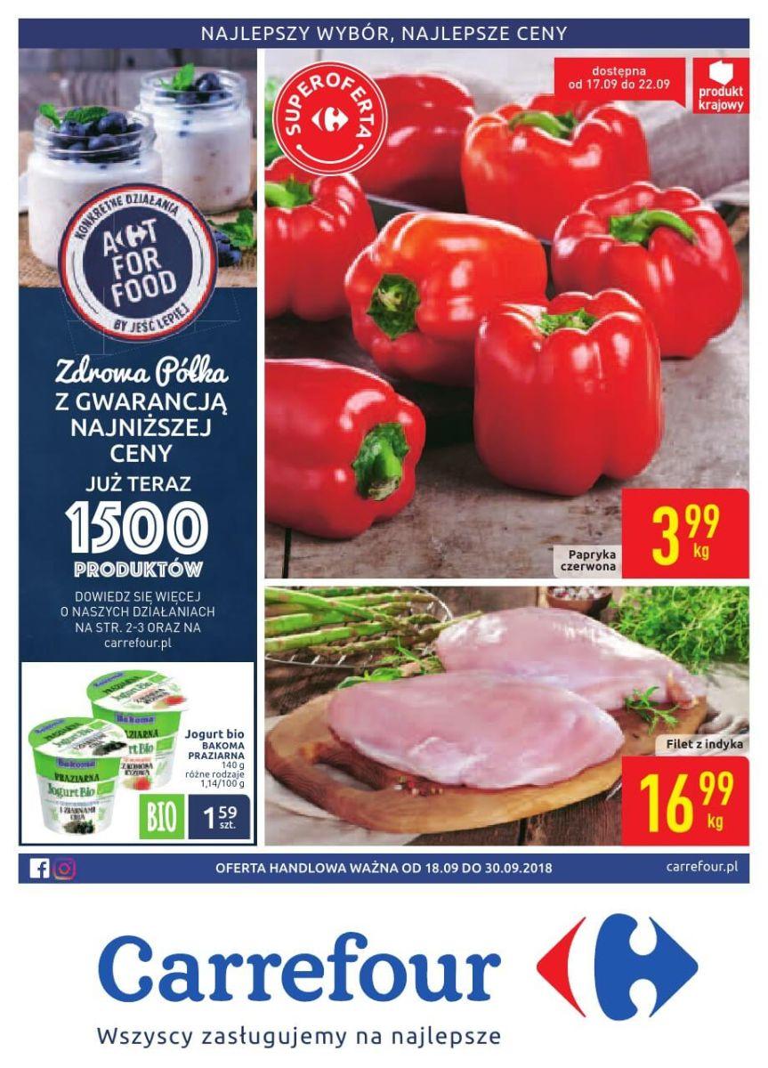 Carrefour, gazetka do 30.09.2018
