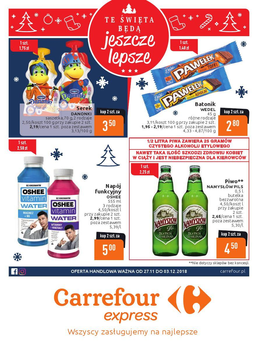 Carrefour Express, gazetka do 03.12.2018