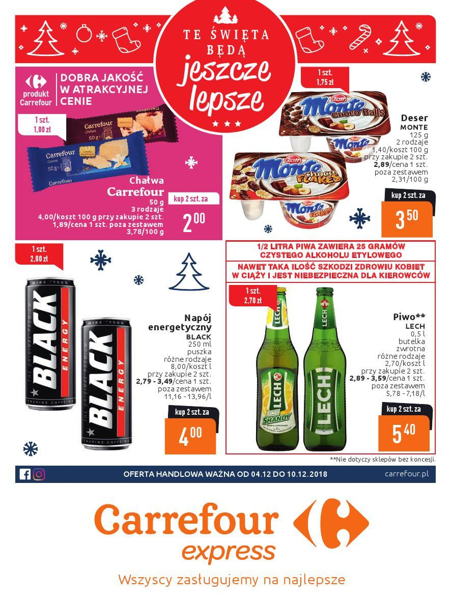 Carrefour Express, gazetka do 10.12.2018