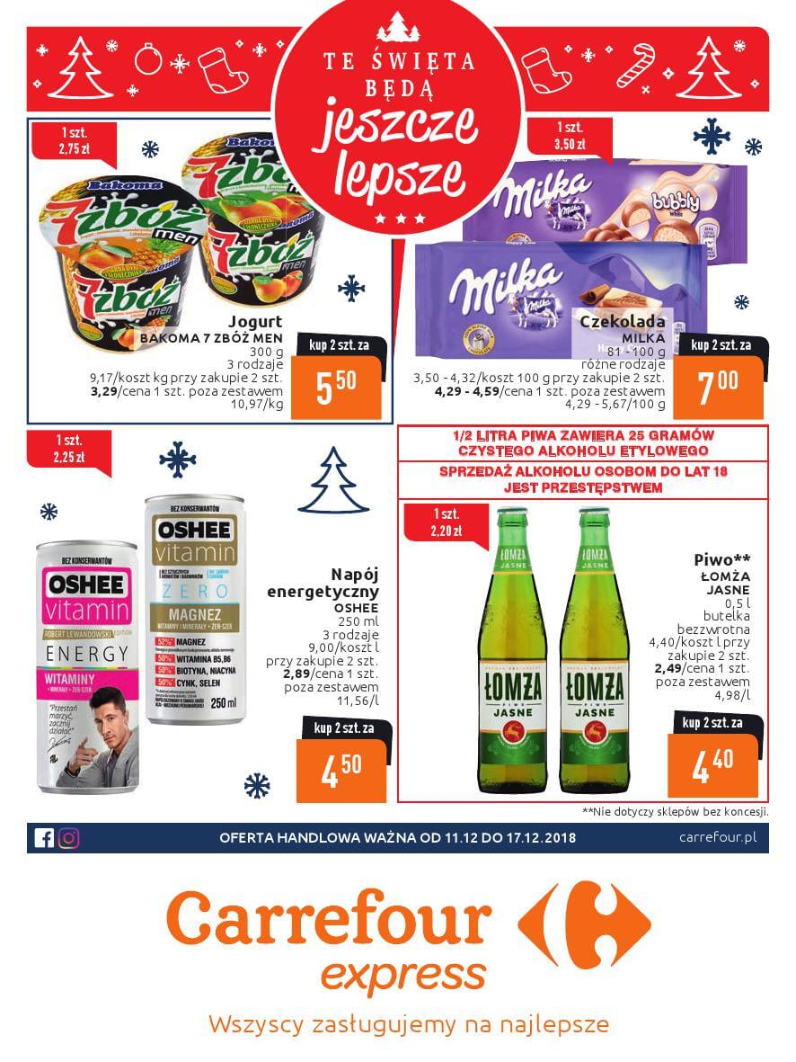 Carrefour Express, gazetka do 17.12.2018