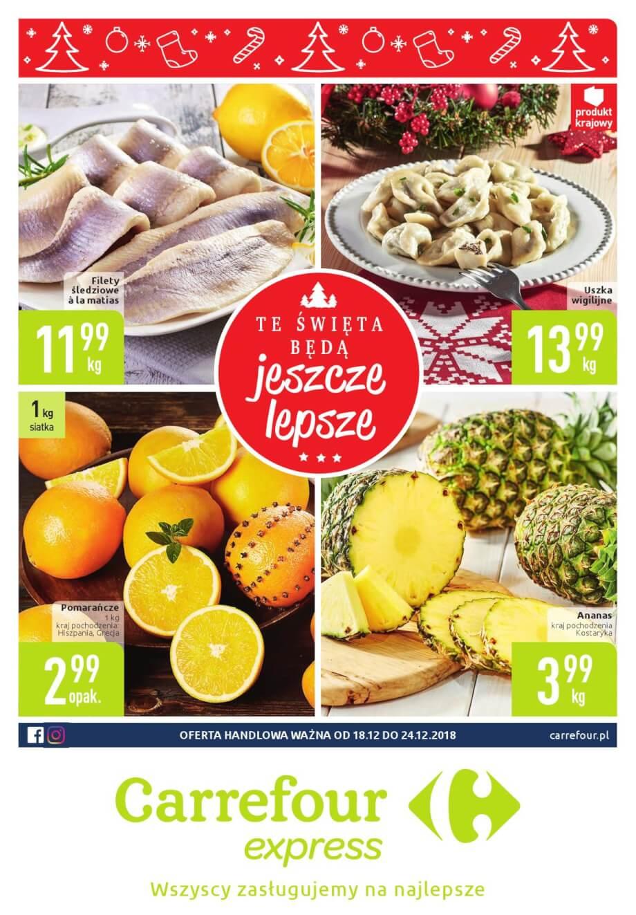 Carrefour Express, gazetka do 24.12.2018