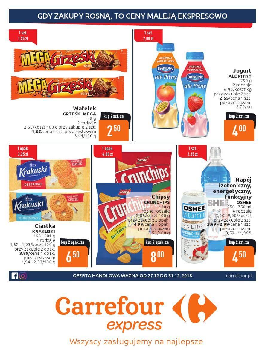 Carrefour Express, gazetka do 31.12.2018