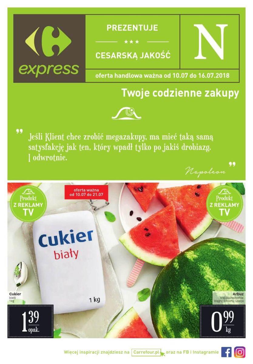 Carrefour Express, gazetka do 16.07.2018