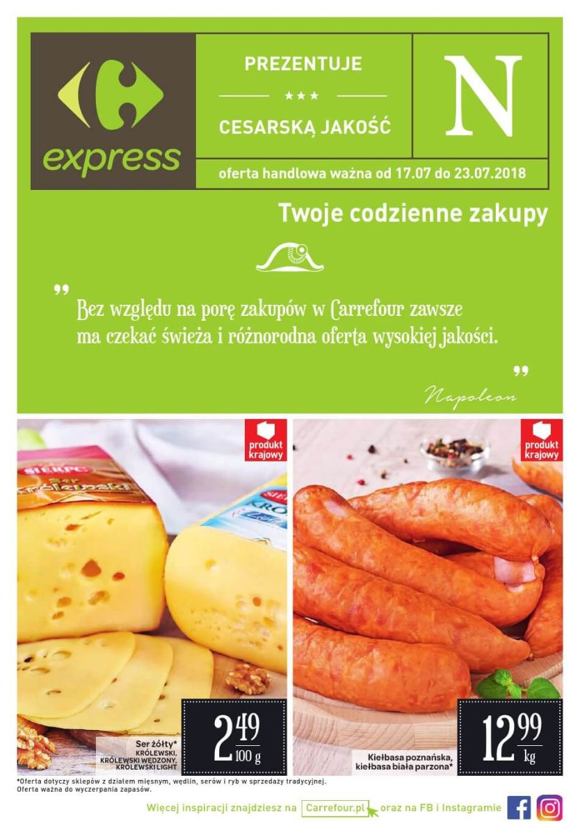 Carrefour Express, gazetka do 23.07.2018