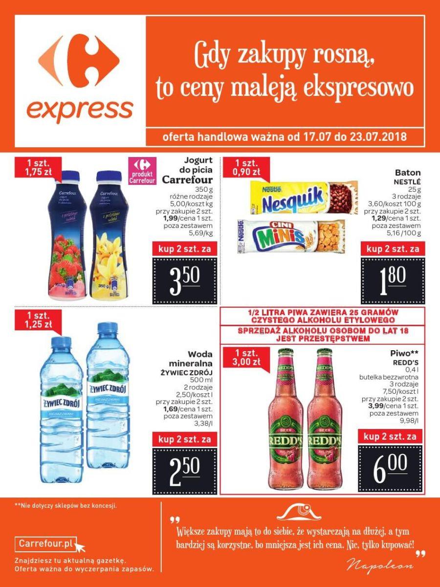 Carrefour Express, gazetka do 23.07.2018
