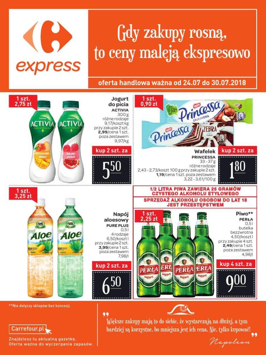 Carrefour Express, gazetka do 30.07.2018