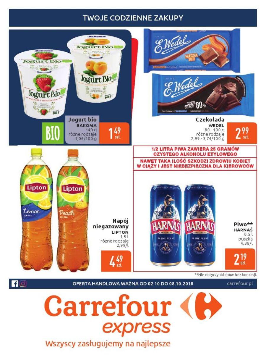 Carrefour Express, gazetka do 08.10.2018