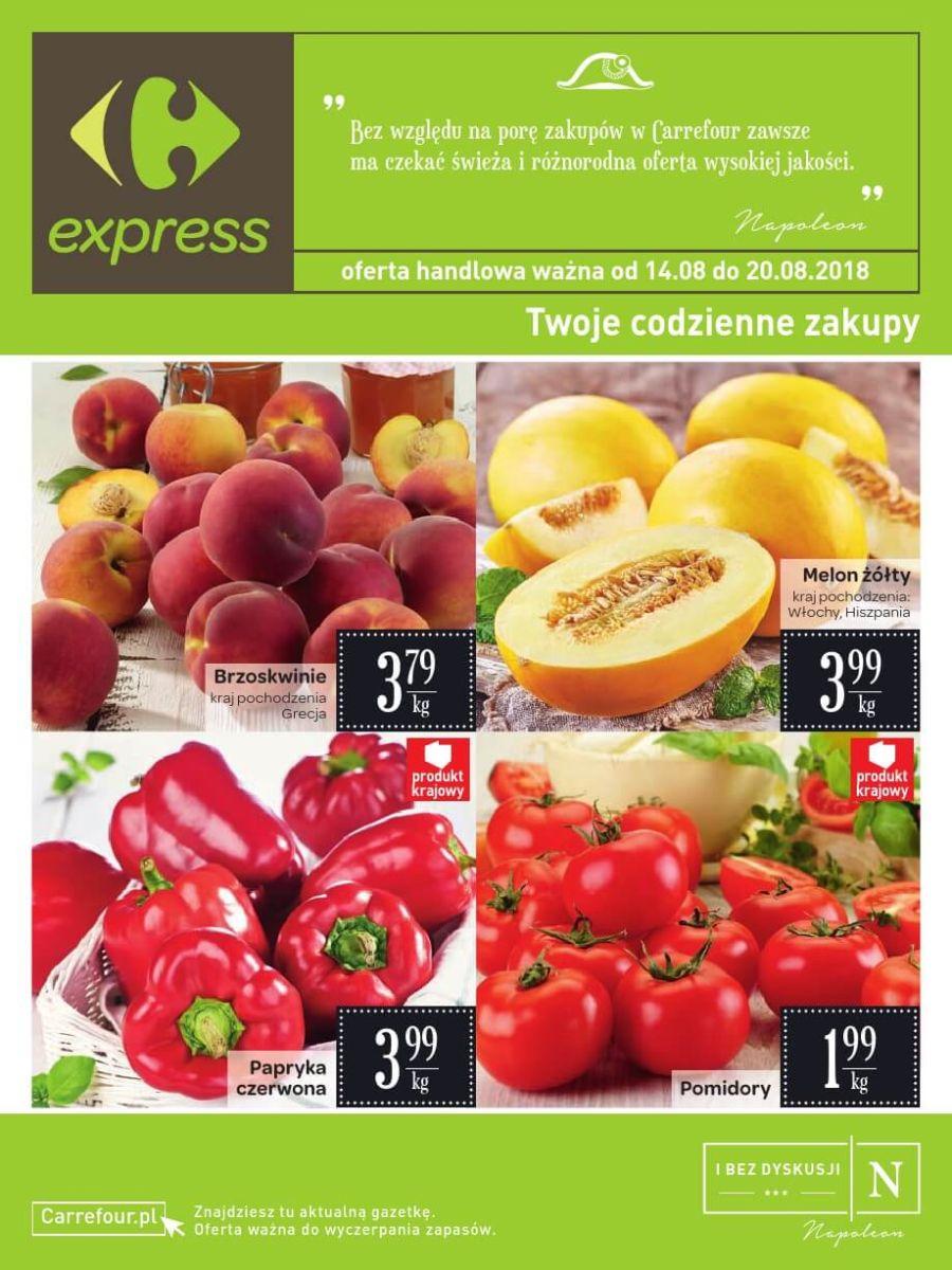 Carrefour Express, gazetka do 20.08.2018