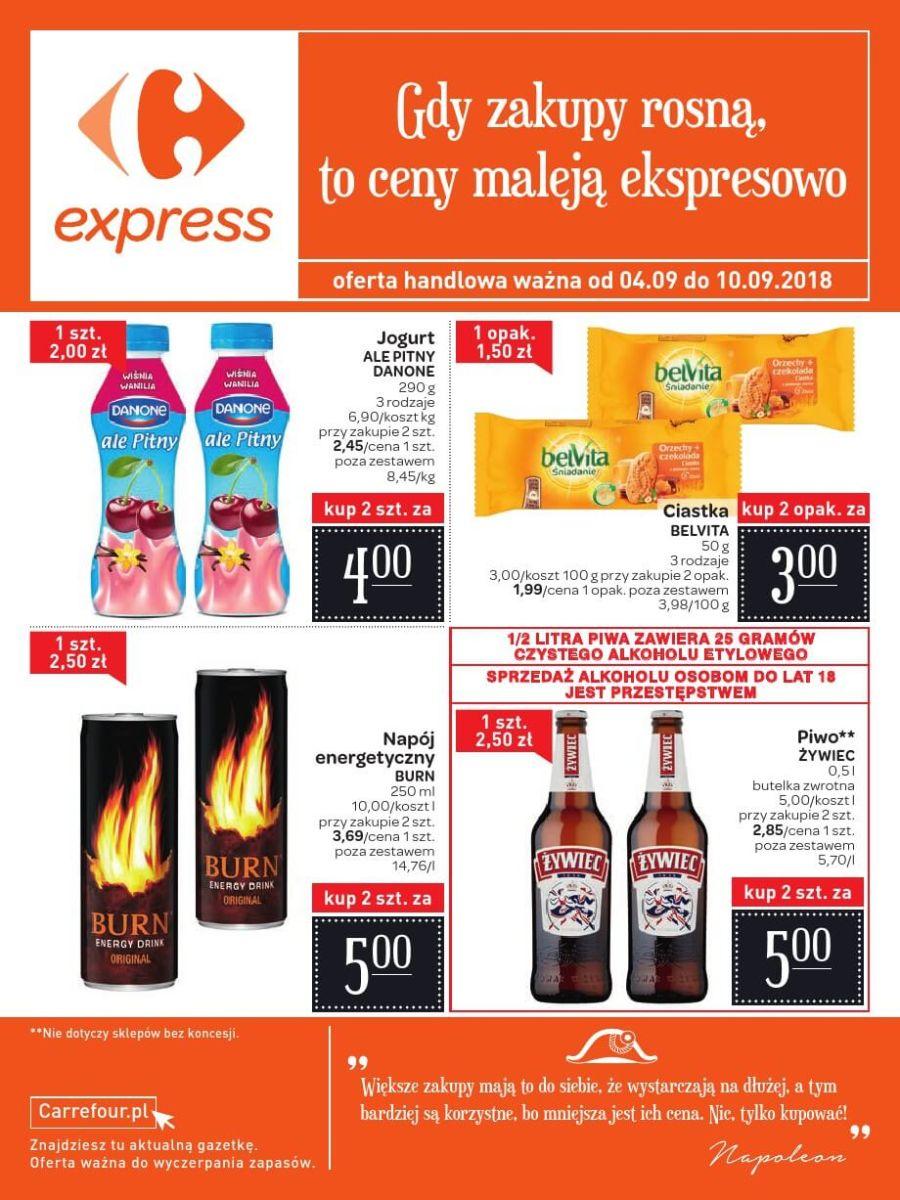 Carrefour Express, gazetka do 10.09.2018