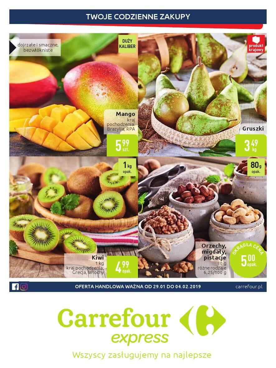 Carrefour Express, gazetka do 04.02.2019