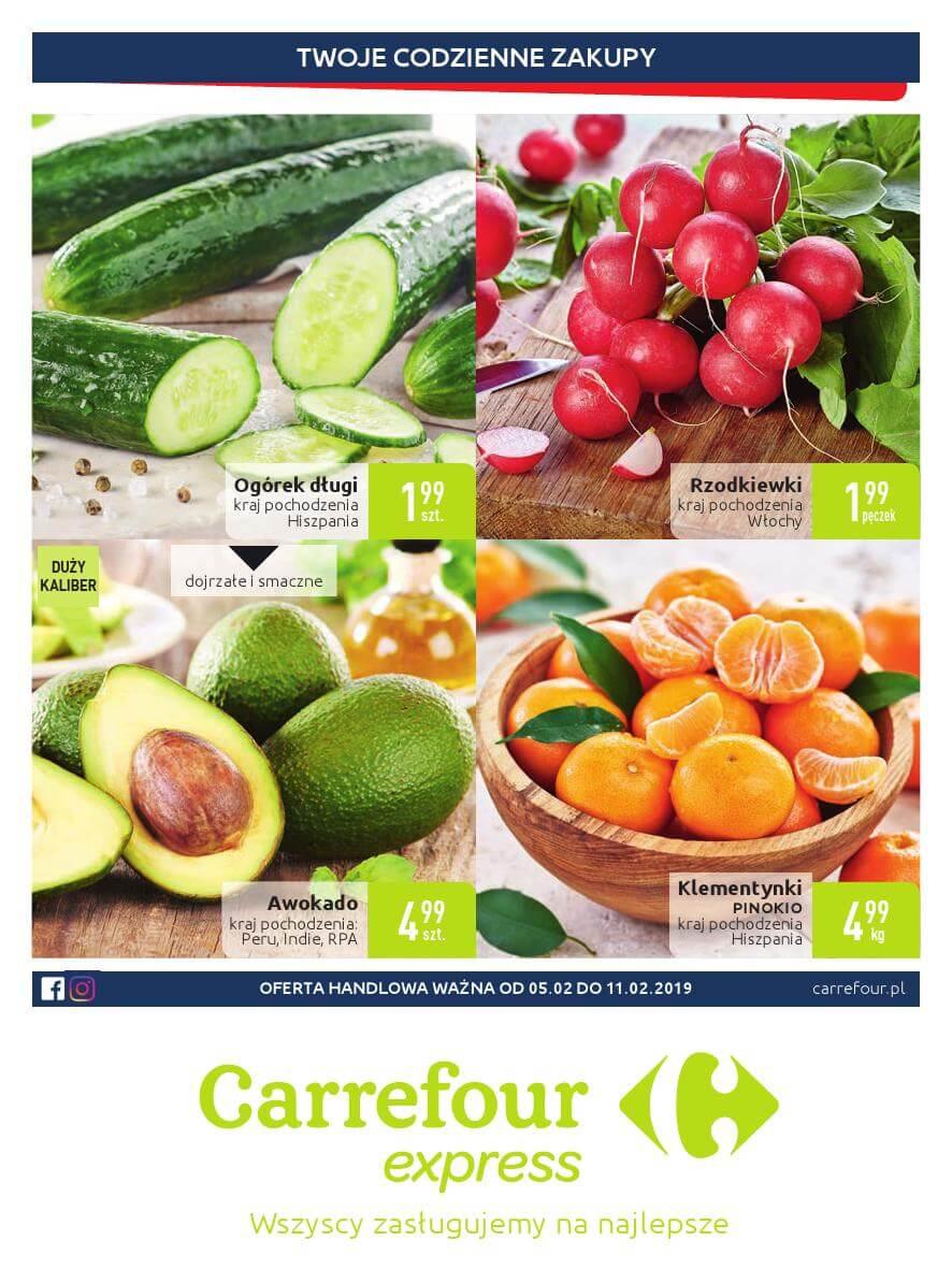 Carrefour Express, gazetka do 11.02.2019