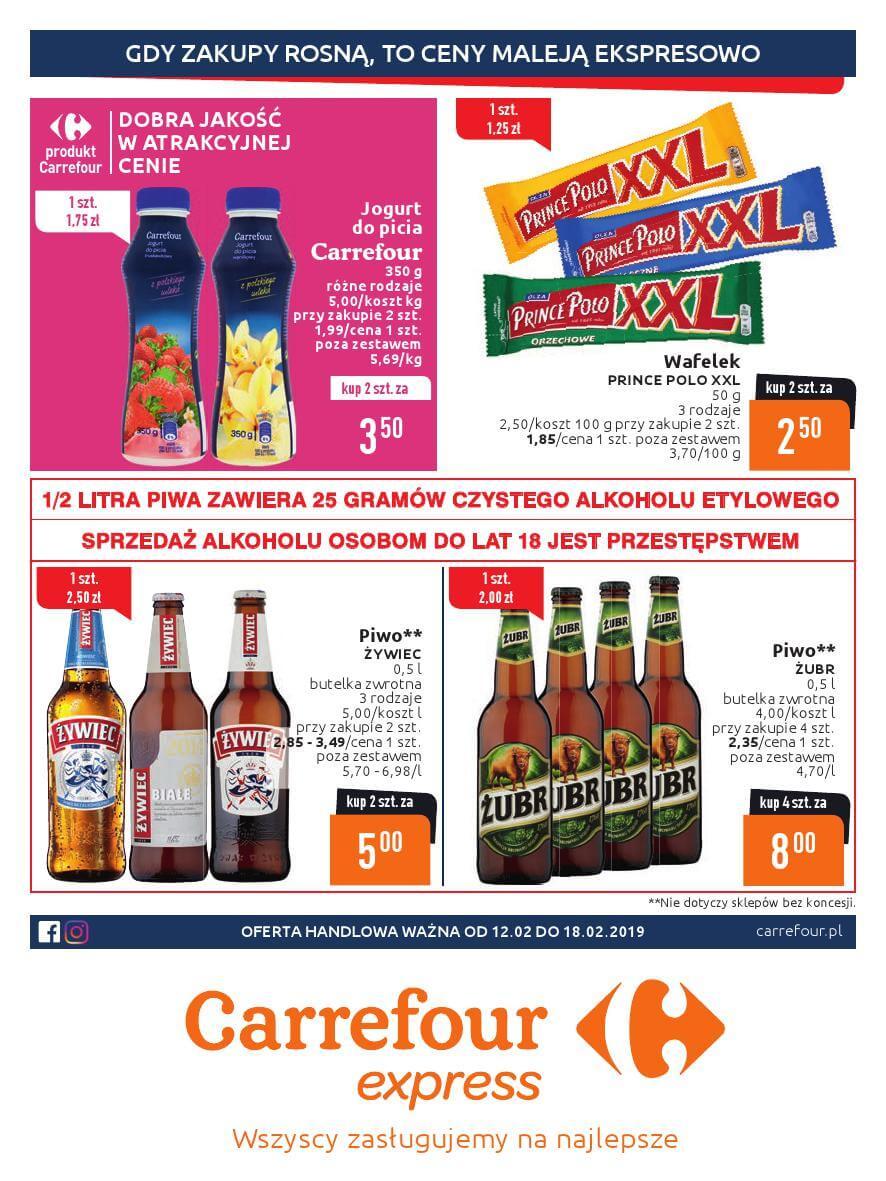 Carrefour Express, gazetka do 18.02.2019