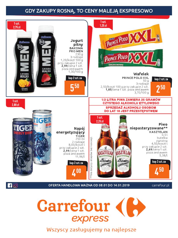 Carrefour Express, gazetka do 14.01.2019