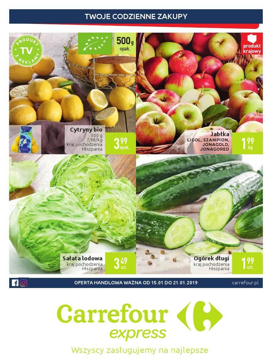 Carrefour Express, gazetka do 21.01.2019