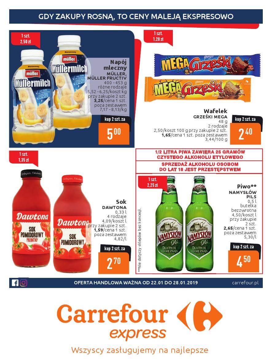 Carrefour Express, gazetka do 28.01.2019