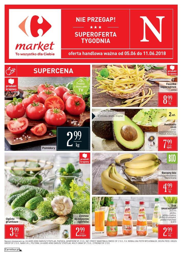 Carrefour Market, gazetka do 11.06.2018