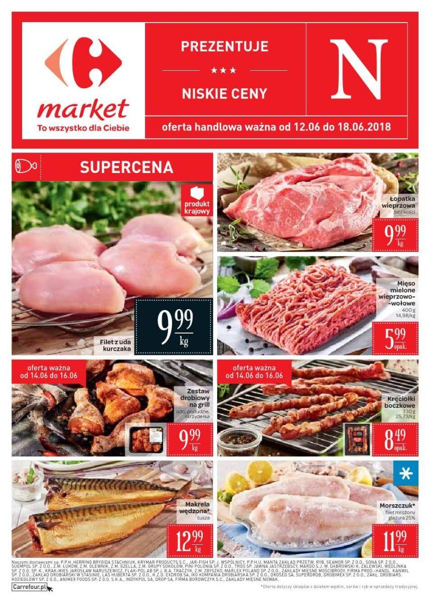 Carrefour Market, gazetka do 18.06.2018