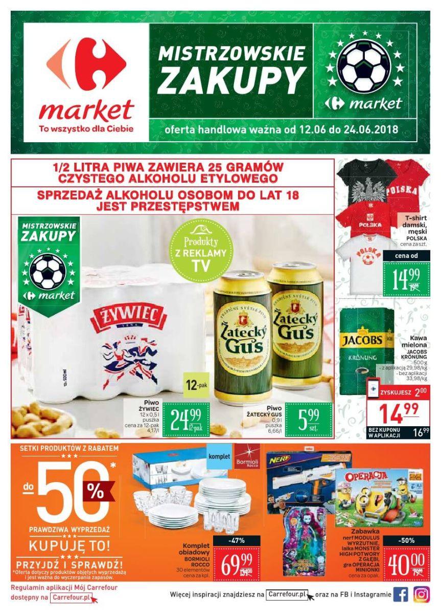 Carrefour Market, gazetka do 24.06