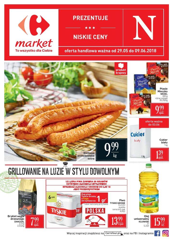 Carrefour Market, gazetka do 09.06.2018