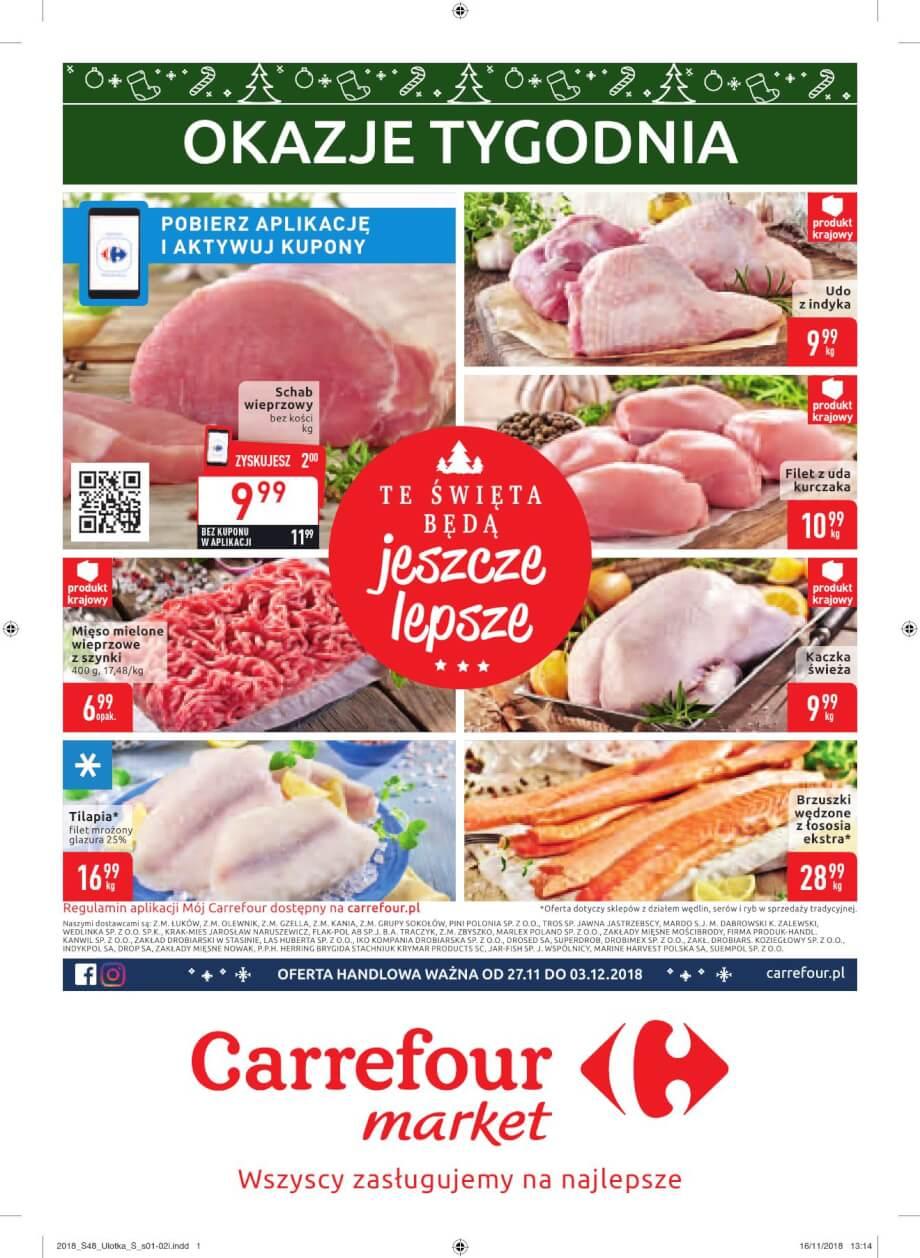 Carrefour Market, gazetka do 03.12.2018