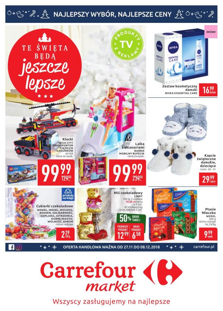 Carrefour Market, gazetka do 08.12.2018