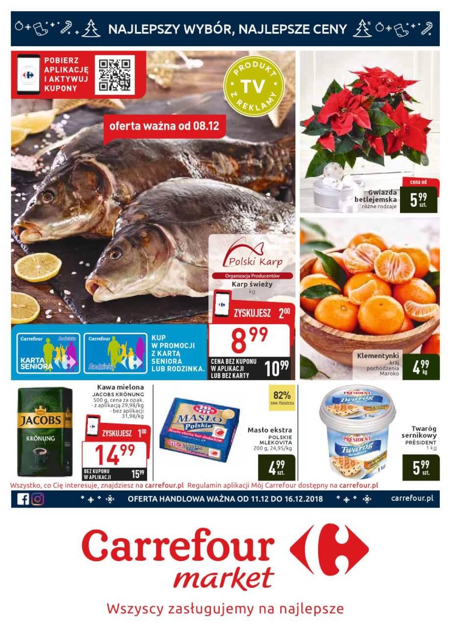 Carrefour Market, gazetka do 16.12.2018