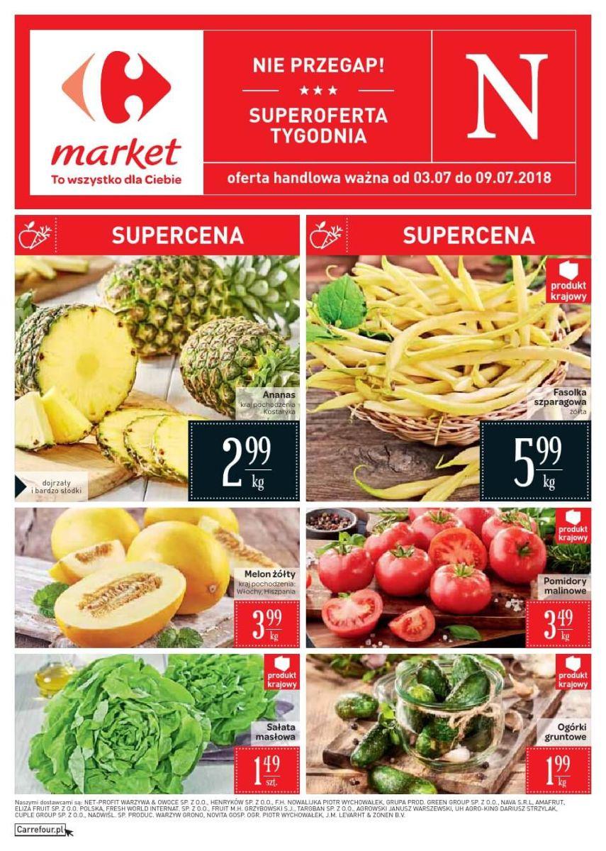 Carrefour Market, gazetka do 09.07.2018