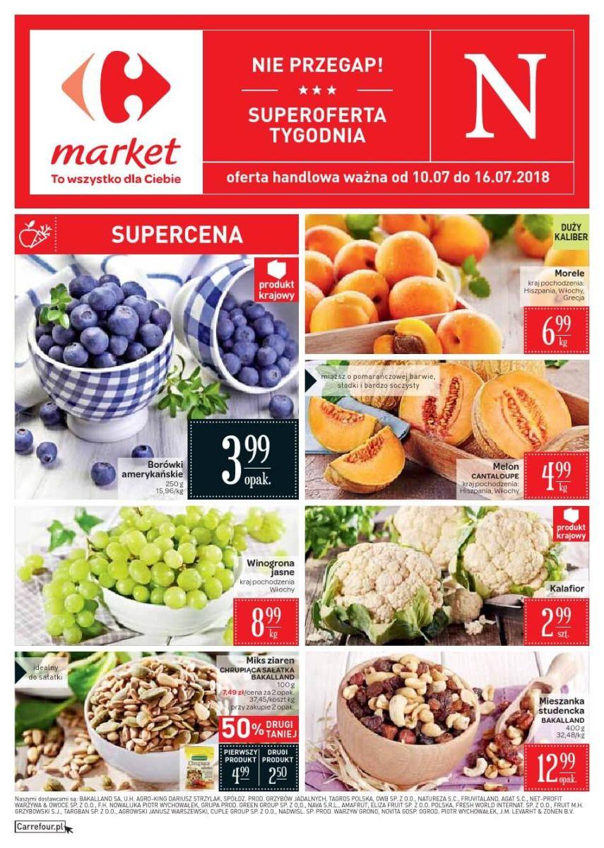Carrefour Market, gazetka do 16.07.2018