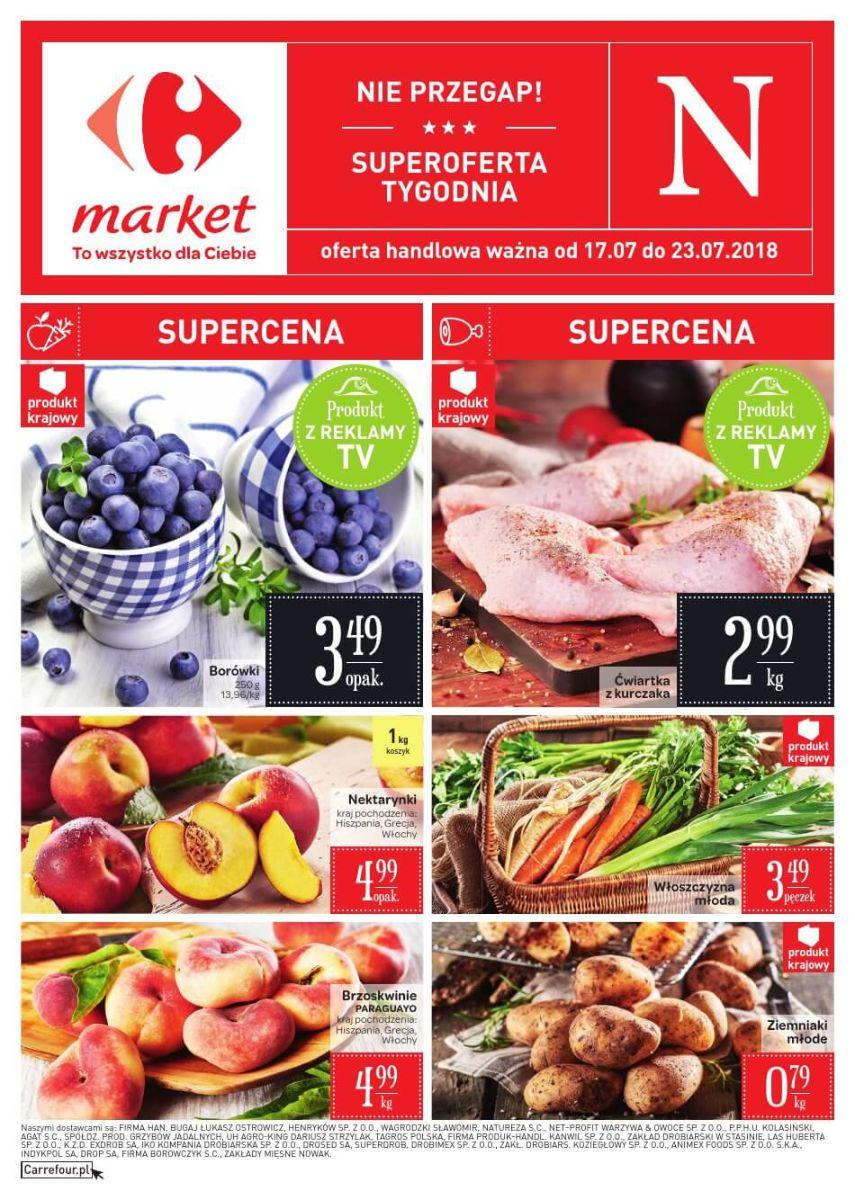 Carrefour Market, gazetka do 23.07.2018