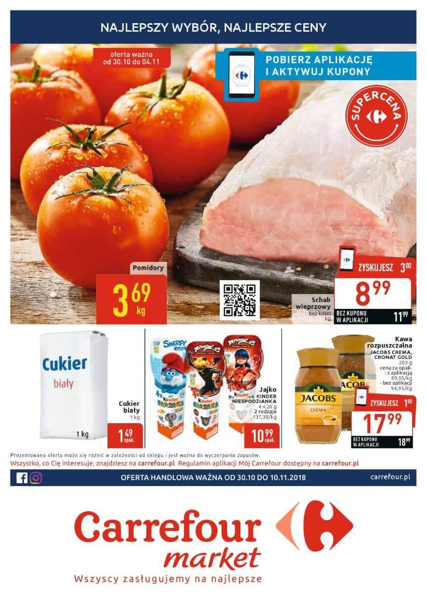 Carrefour Market, gazetka do 10.11.2018