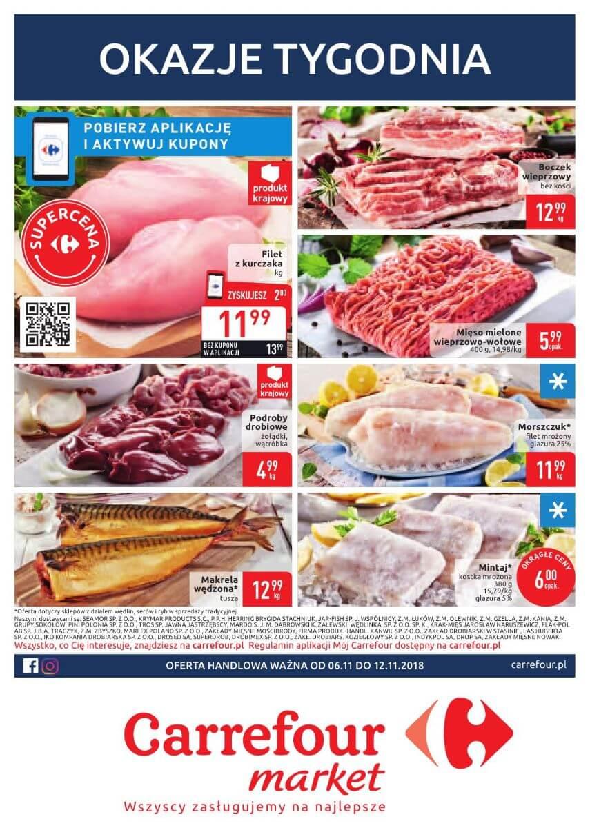 Carrefour Market, gazetka do 12.11.2018