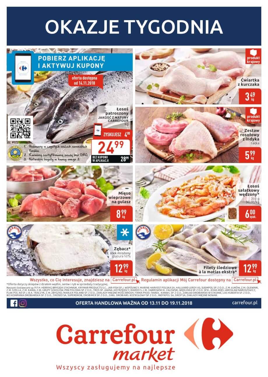 Carrefour Market, gazetka do 19.11.2018