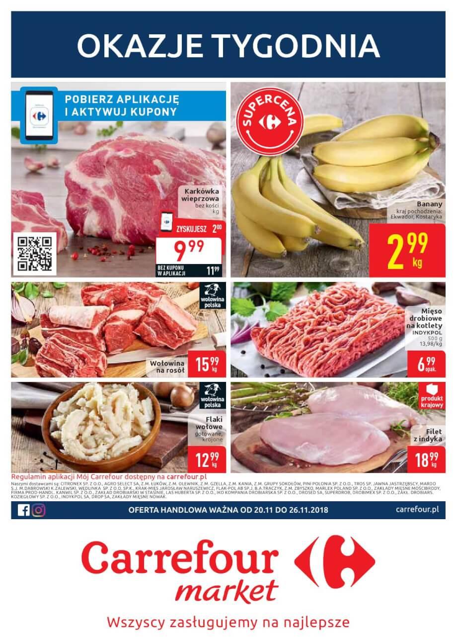 Carrefour Market, gazetka do 26.11.2018