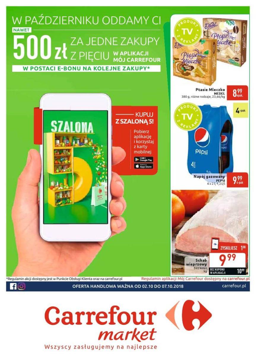 Carrefour Market, gazetka do 07.10.2018