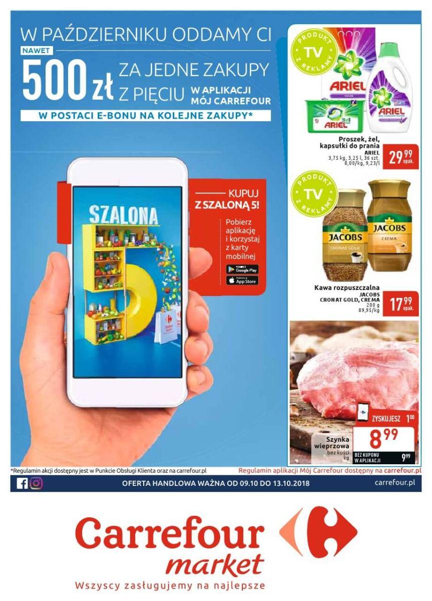 Carrefour Market, gazetka do 13.10.2018