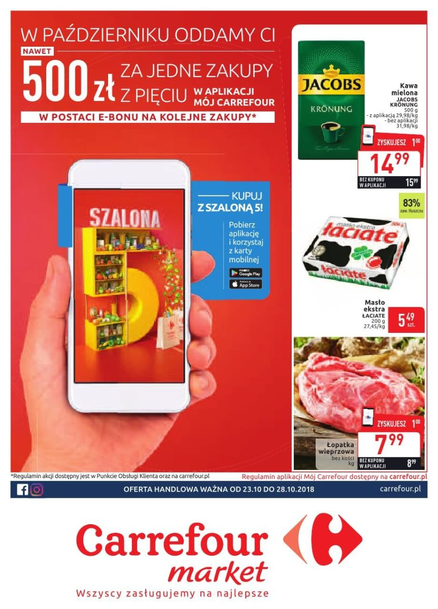 Carrefour Market, gazetka do 28.10.2018
