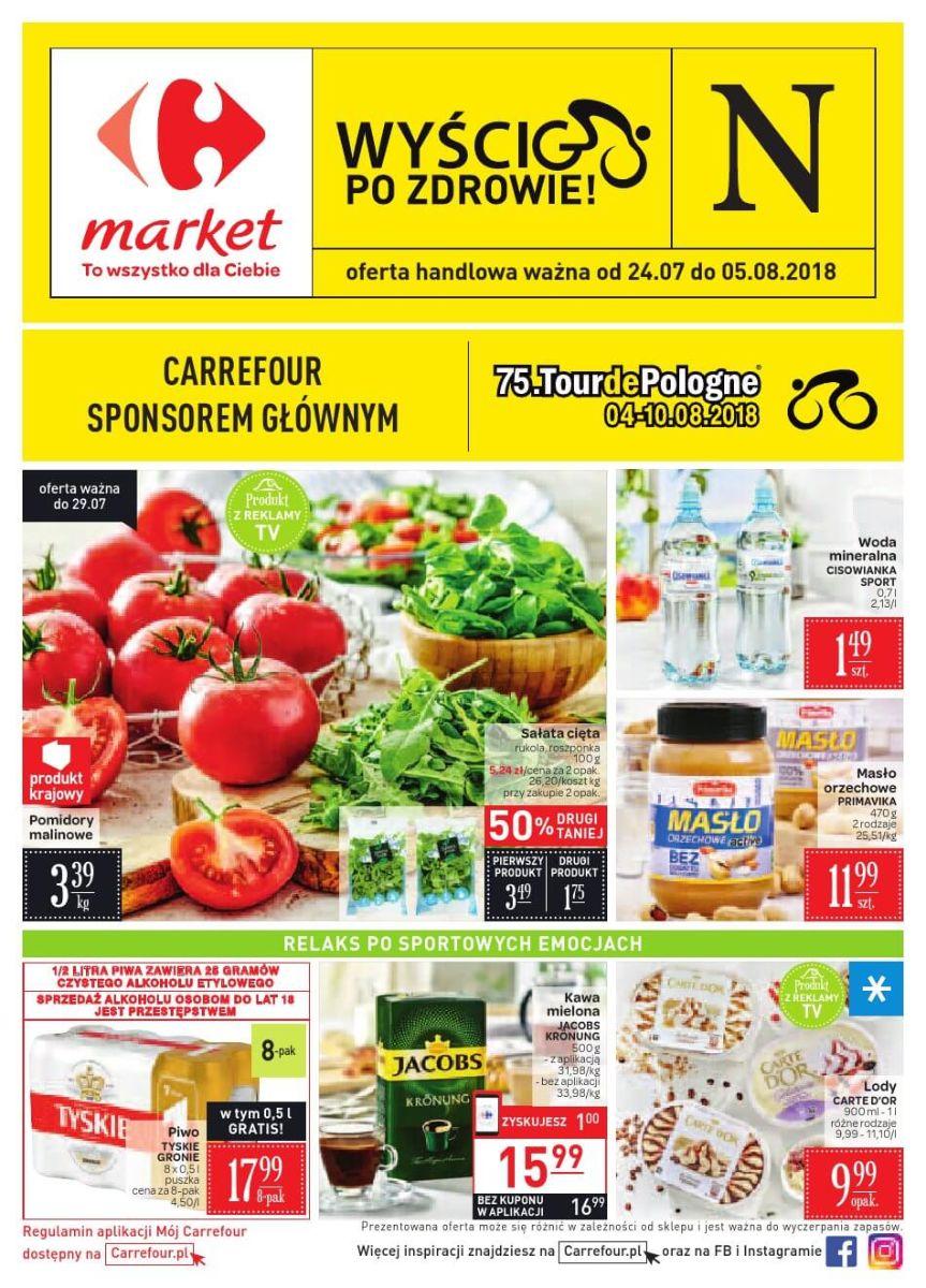 Carrefour Market, gazetka do 05.08.2018