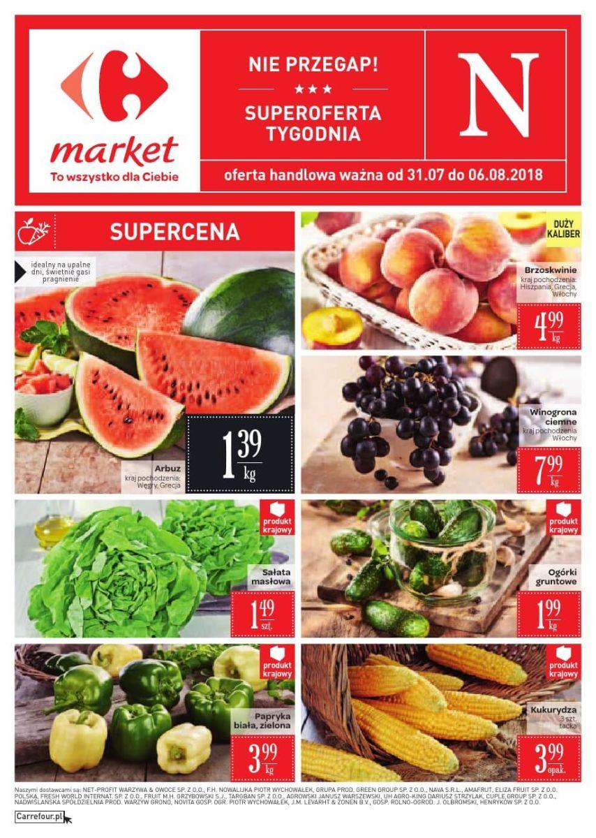 Carrefour Market, gazetka do 06.08.2018