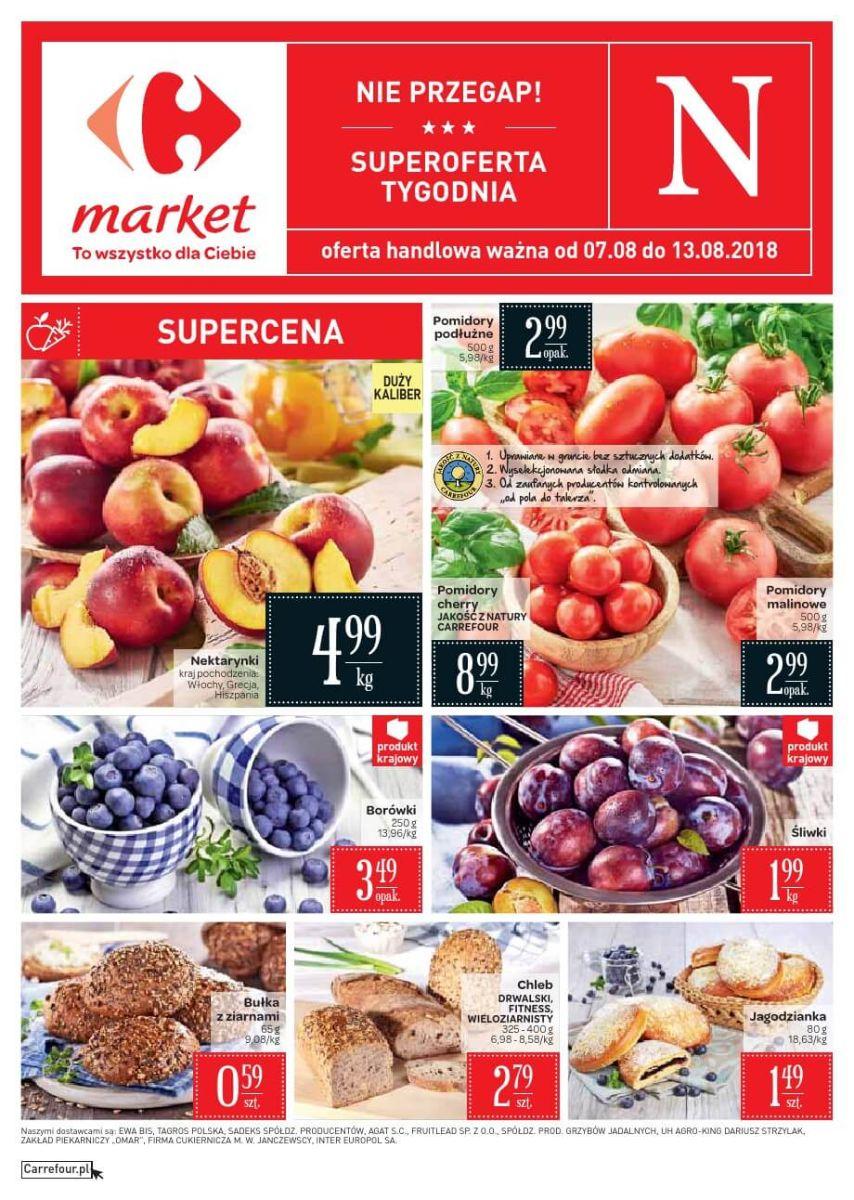 Carrefour Market, gazetka 13.08.2018