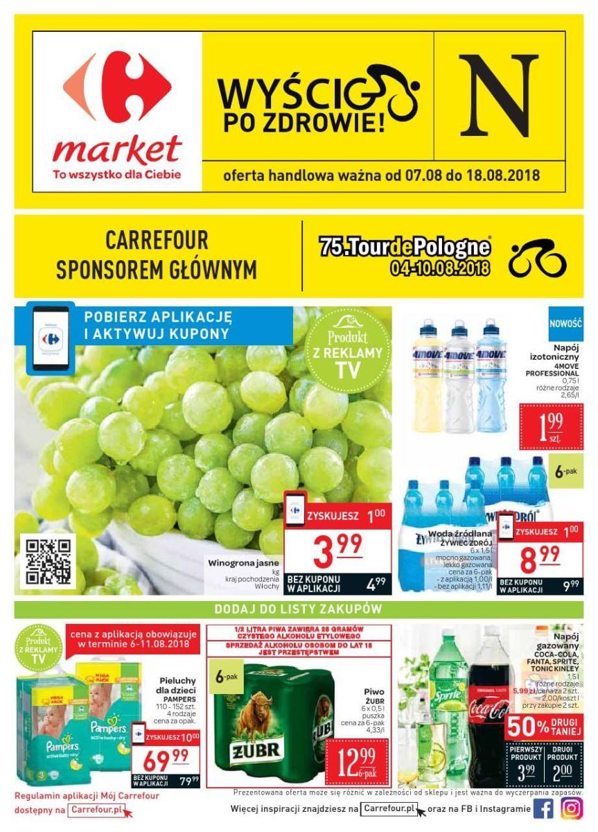 Carrefour Market, gazetka 18.08.2018