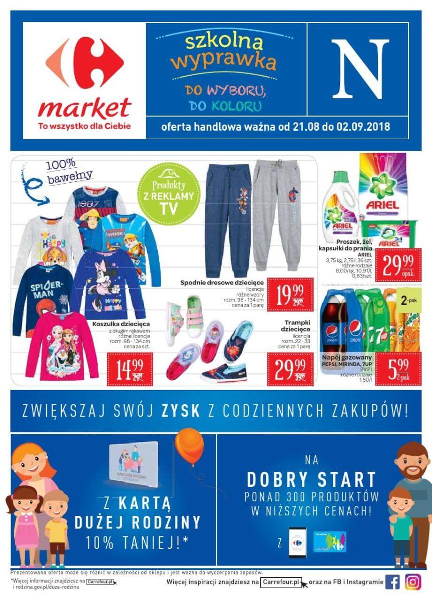 Carrefour Market, gazetka do 02.09.2018
