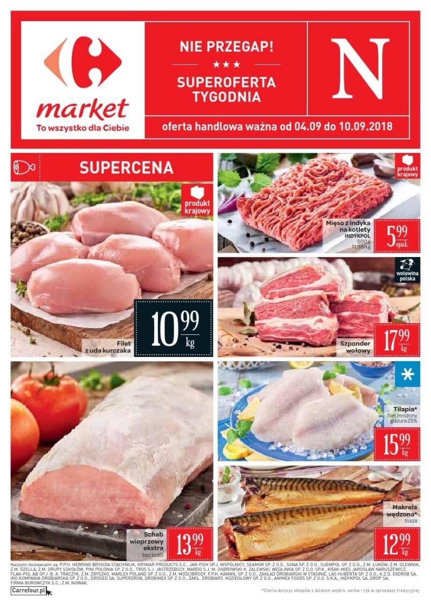 Carrefour Market, gazetka do 10.09.2018
