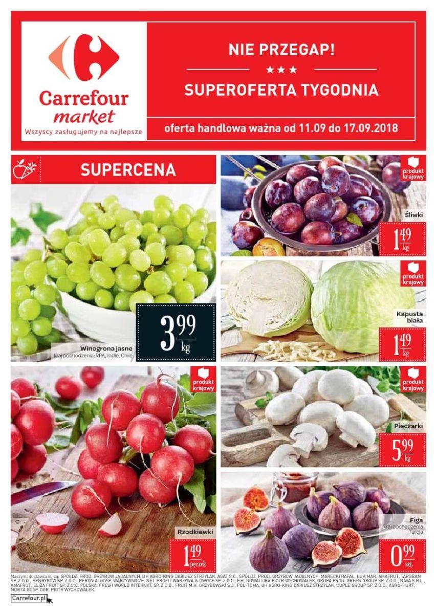 Carrefour Market, gazetka do 17.09.2018