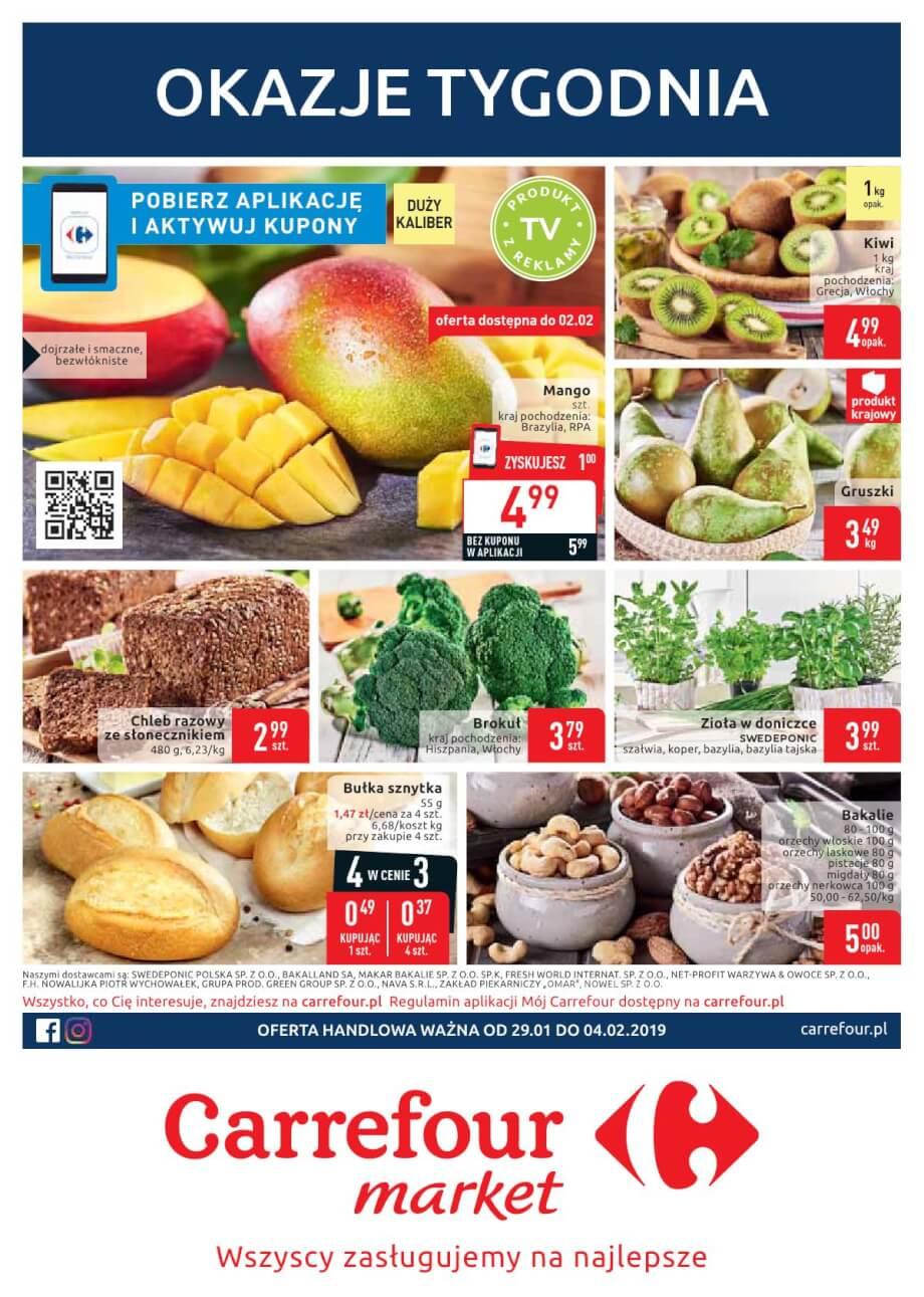 Carrefour Market, gazetka do 04.02.2019