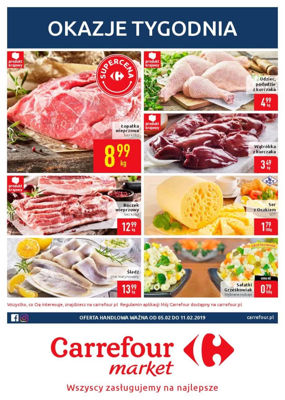 Carrefour MArket, gazetka do 11.02.2019