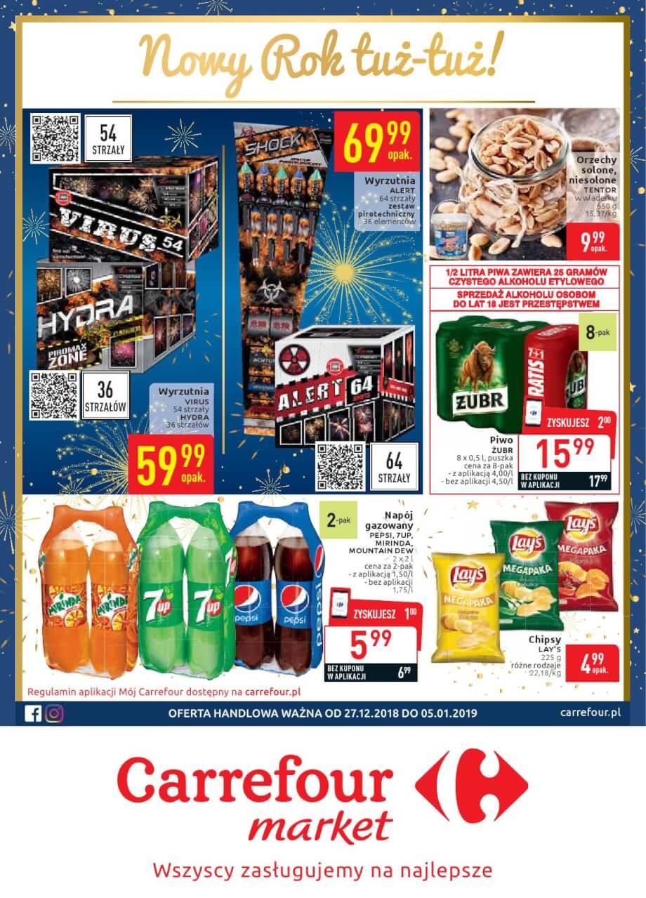 Carrefour Market, gazetka do 05.01.2018