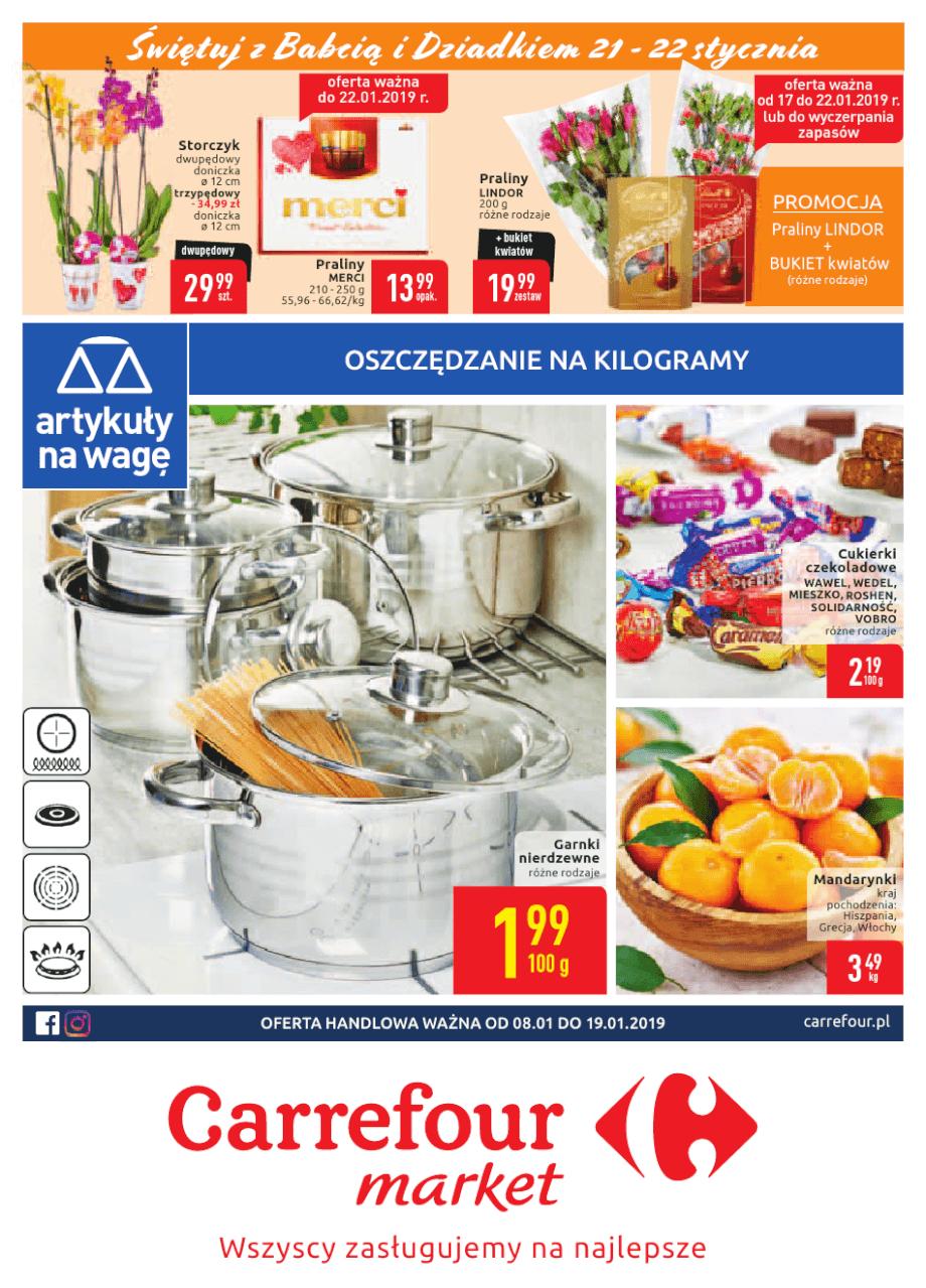 Carrefour Market, gazetka do 18.01.2019